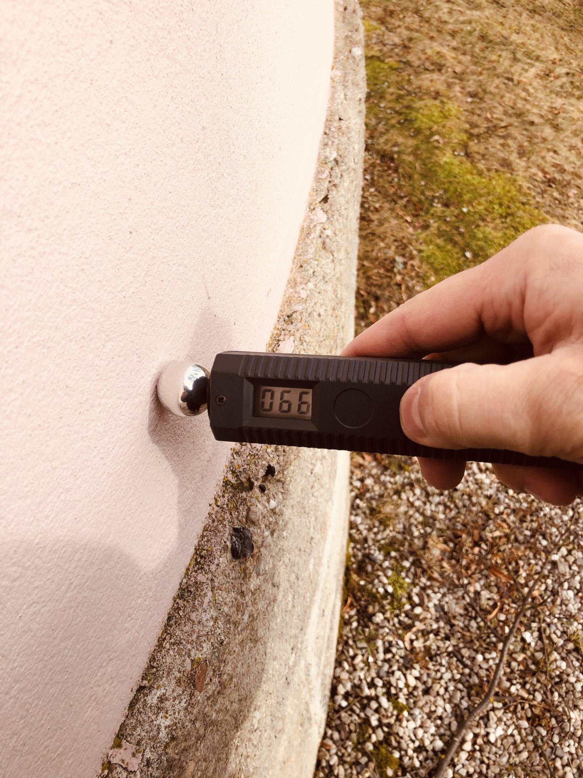 měření vlhkosti přístrojem Gann